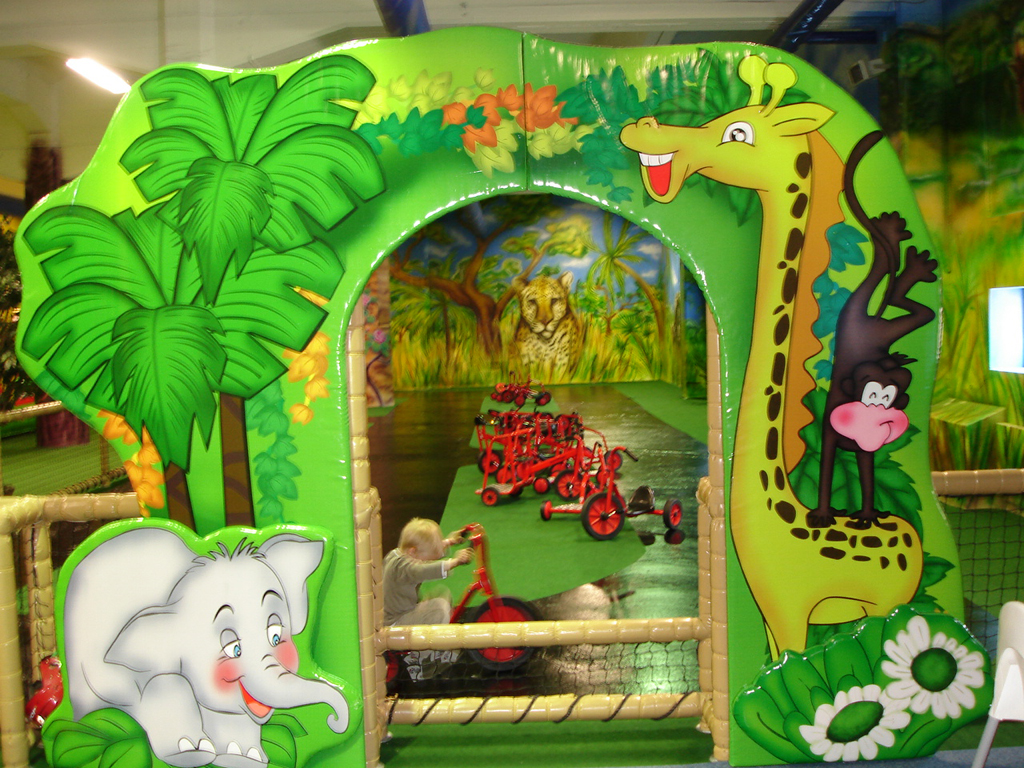 Jungle Themed Designs for Forest playground
